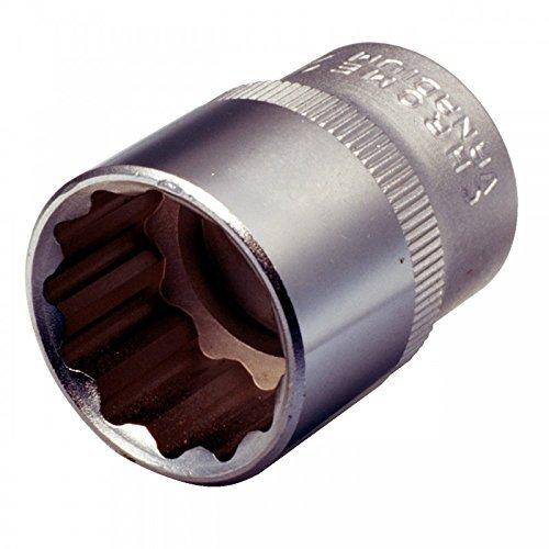 KS Tools 911.1587 Bi Hex Socket, 1/2-Inch, 32mm by KS Tools