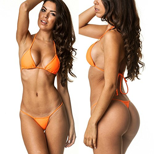 Coqueta Swimwear G String Brazilian Swimsuit
