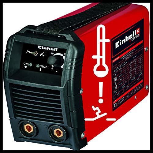 Einhell TC-IW 150 - Soldador con tecnología Inverter (240 V, ventilador de refrigeración, función Anti Stick): Amazon.es: Industria, empresas y ciencia