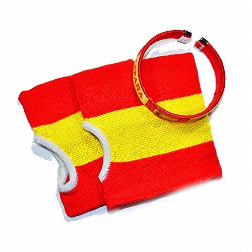 (ピッコロボンネット) PiccoloBonnet 福袋 国旗柄ハンドウォーマー&ブレスレットセット スペイン FUK-1405