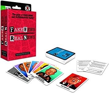 License 2 Play Inc Fake News Real News Card Game: Amazon.es: Juguetes y juegos