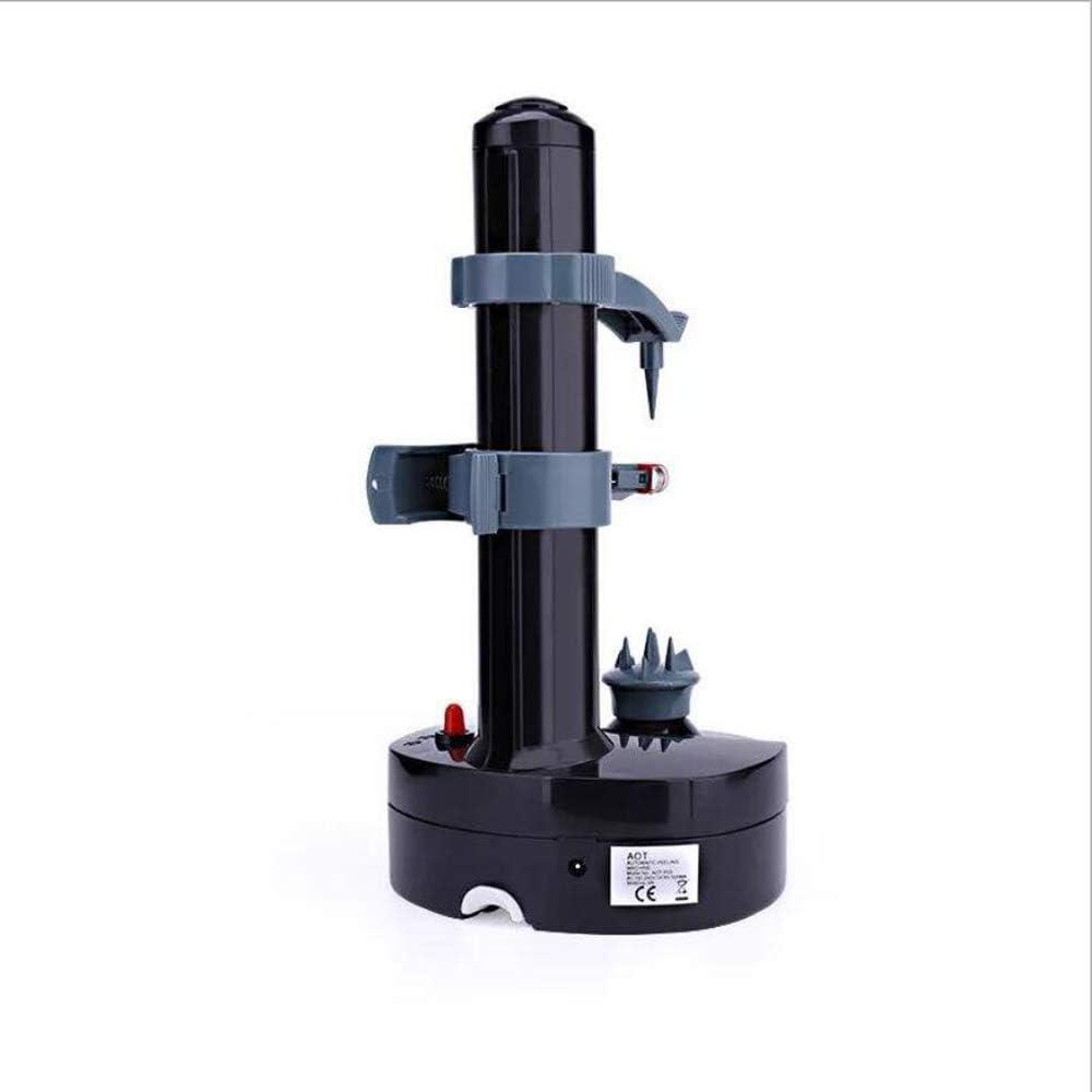 MU2827924 Pelador de Frutas automática eléctrica multifunción Cocina pelador pelador,Negro