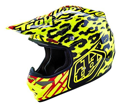 Troy Lee Designs Air Skully Off-Road/Dirt Bike Motorcycle Helmet - Yellow / Large (Troy Lee Dirt Bike Helmet)