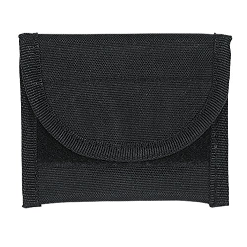 VooDoo Tactical 20-0102001000 Name Card Pouch, Black