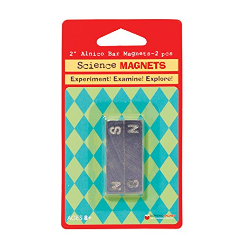 - Dowling Magnets Alnico Bar Magnet (1.88 inches long x .46 inch wide x .24 inch thick), Set of 2