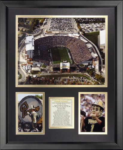 Legends Never Die University of Purdue - Ross-Ade Stadium Framed Photo Collage, 16