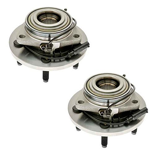 Brand New DRIVESTAR 513207X2 Pair of 2 Front Wheel Hub & Bearing Assembly for 04-05 Durango 4WD 2WD - Dodge Wheel Durango Abs
