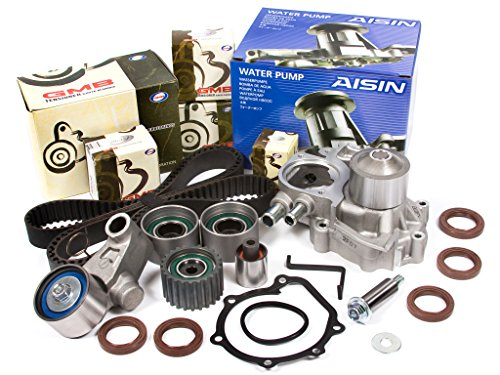 Evergreen TBK328WPA Fits 02-05 Subaru Impreza WRX Turbo 2.0 DOHC EJ20 Timing Belt Kit AISIN Water - Turbo Impreza Subaru Wrx