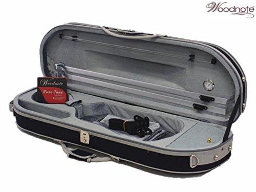New VC-820BPL Enhanced 4/4 Half-Moon Violin Case+Free 4/4 String Set