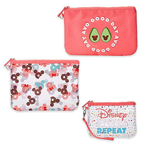 Mickey Mouse Makeup (Disney Mickey and Minnie Mouse Pouch Set - Oh My Disney)