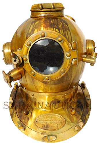 Nautical 18'' U.S Navy Diving Helmet