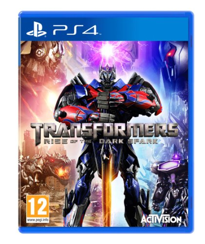 Transformers Rise Of The Dark Spark Sony Playstation 4 PS4 Game UK