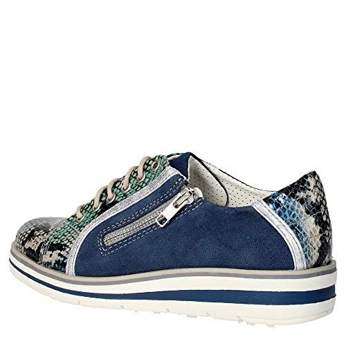 L155 f Trivict Sneakers Bleu s16136 Femme qxadwHdFY