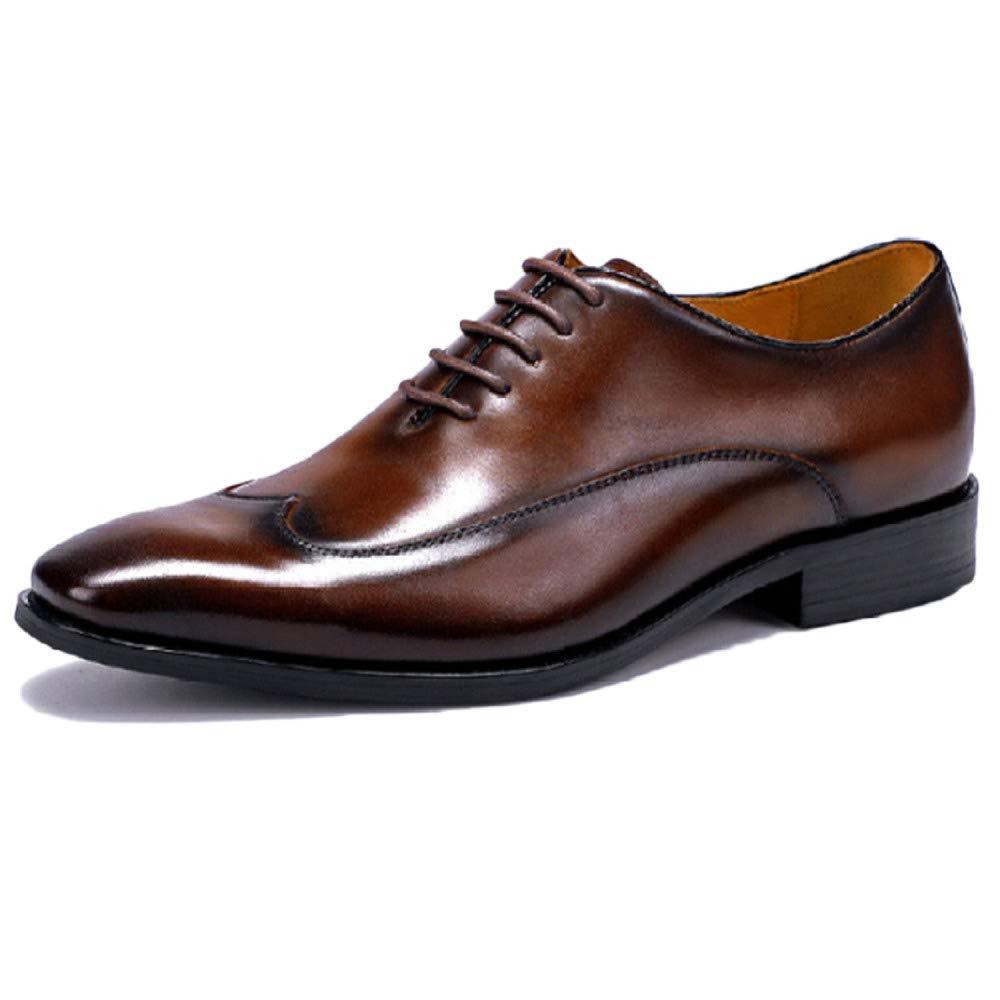 Snfgoij Oxford Schuhe Herren Komfort Schwarz Arbeiten Lace Up Lackleder Anzug Schuhe Kleid Schuhe Atmungsaktiv Geschäft