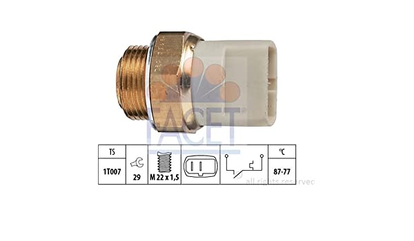 ventilador del radiador FAE 37270 interruptor de temperatura