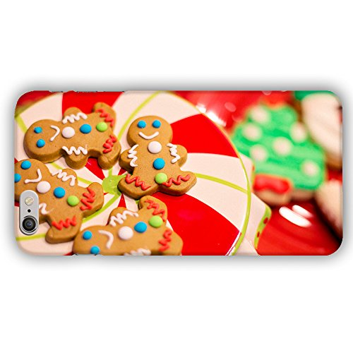 Plate Of Christmas Cookies Gingerbread Men Snowmen Apple iPhone 6 Plus / 6S Plus (5.5 inch) Phone Case