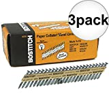 Bostitch PT-MC14815GAL1M 1-1/2'' x .148 35 deg. Strapshot Nails 3-Pack