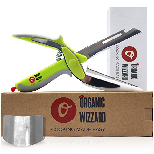 organic-wizzard-kitchen-knife-with-cutting-board-and-finger-guard-6-in-1-universal-scissors-food-cho
