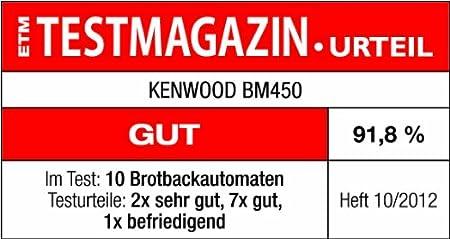 Amazon.com: BM 450 SILBER UMLUFT-BROTBACKAUTOMAT - Sonstiges Haushaltsgerät: Electronics