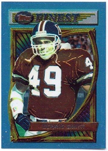 Usc Ring - Dennis Smith 1994 Topps Finest #187 - Denver Broncos