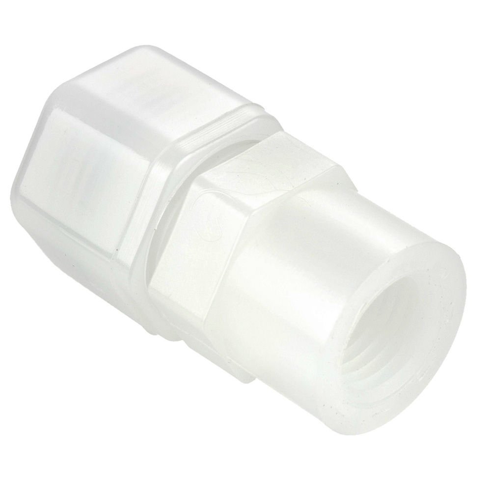 Pack of 10 Parker N6FC8-pk10 Plastic Fitting Tube to Female Pipe 3//8 Fast-Tite Compression and NPTF Connector 1//2 Nylon