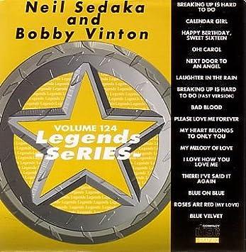 LEGENDS Karaoke CDG Vol 124 Hits of NEIL SEDAKA and BOBBY VINTON CD