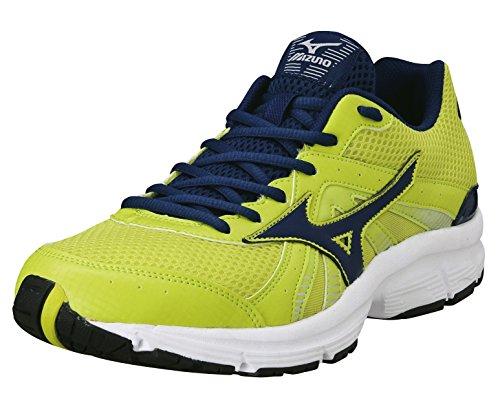 Mizuno - Zapatillas de running para hombre Lime-Blue Lime-Blue Talla:10,5