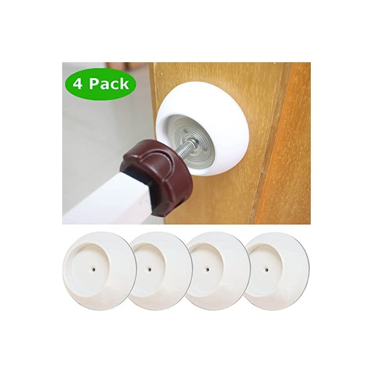 4 Pack Pet Gates Wall Protector Make Pressure Baby Gates More Stable Safety