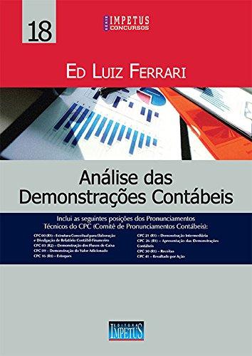 Análise das Demonstrações Contábeis: Volume 18