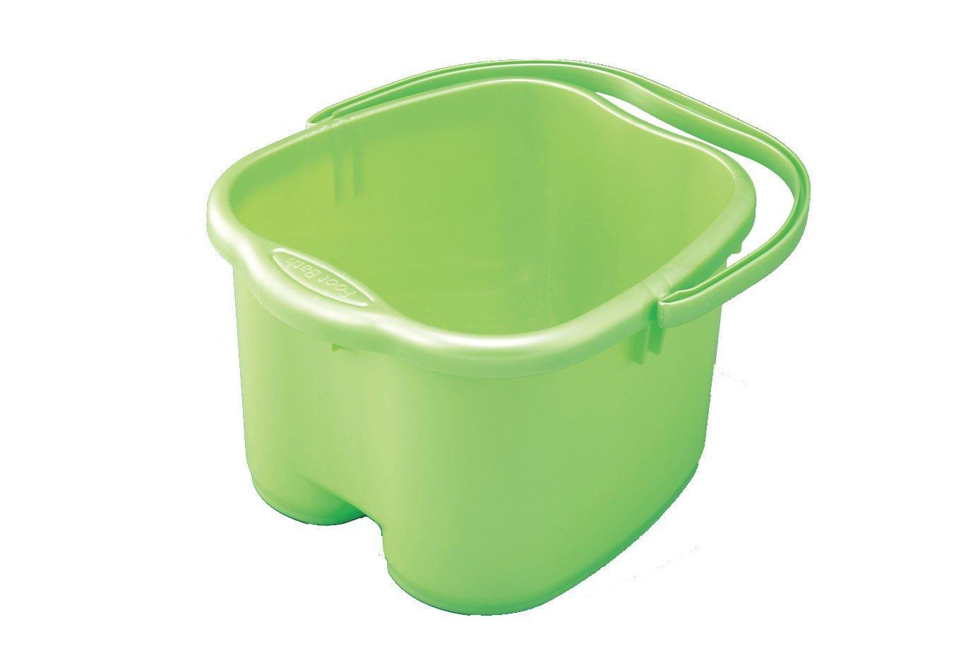 Inomata Green Foot Detox Massage Spa Bucket #0012 2617