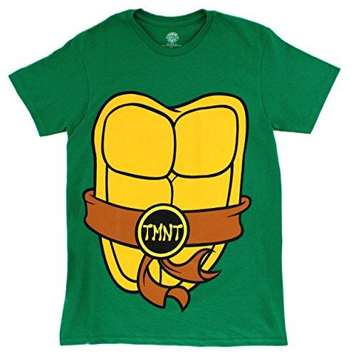 Teen Teenage Mutant Ninja Turtle (Novelty Character Teen Adult Mens Graphic Tee (Small, TMNT Costume))