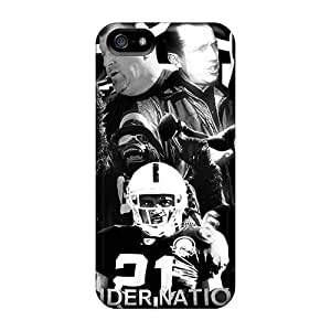 Durable Defender Cases For Iphone 5/5s Covers(oakland Raiders)