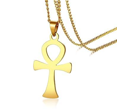 Amazon Stainless Steel Egyptian Cross Key Of Life Symbol Of