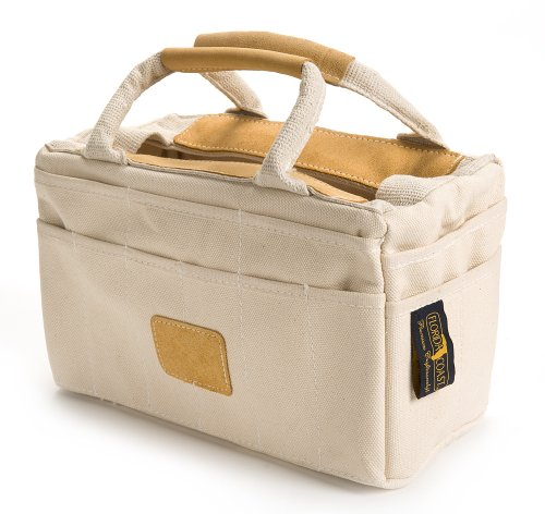 Florida Coast RB 15002 Leather Trim Tool Tote Natural Cotton (Tool Bags Canvas compare prices)