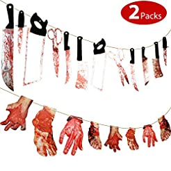 20 Pieces Scary Halloween Decorations 12...