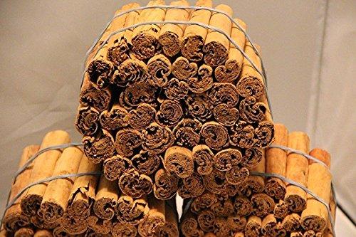 Organic Real Ceylon (Sri Lanka) Cinnamon Sticks, 5 Inch ,(16 Oz), Premium Grade, Freshly Packed - (453g) by Ceylon