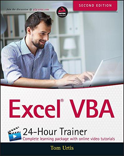 Excel VBA 24-Hour Trainer Pdf