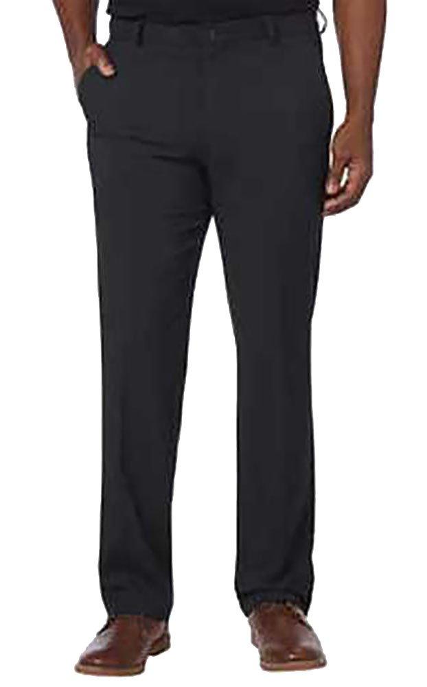 Greg Norman Men's Ultimate Travl Golf Pants, Black, 36x32