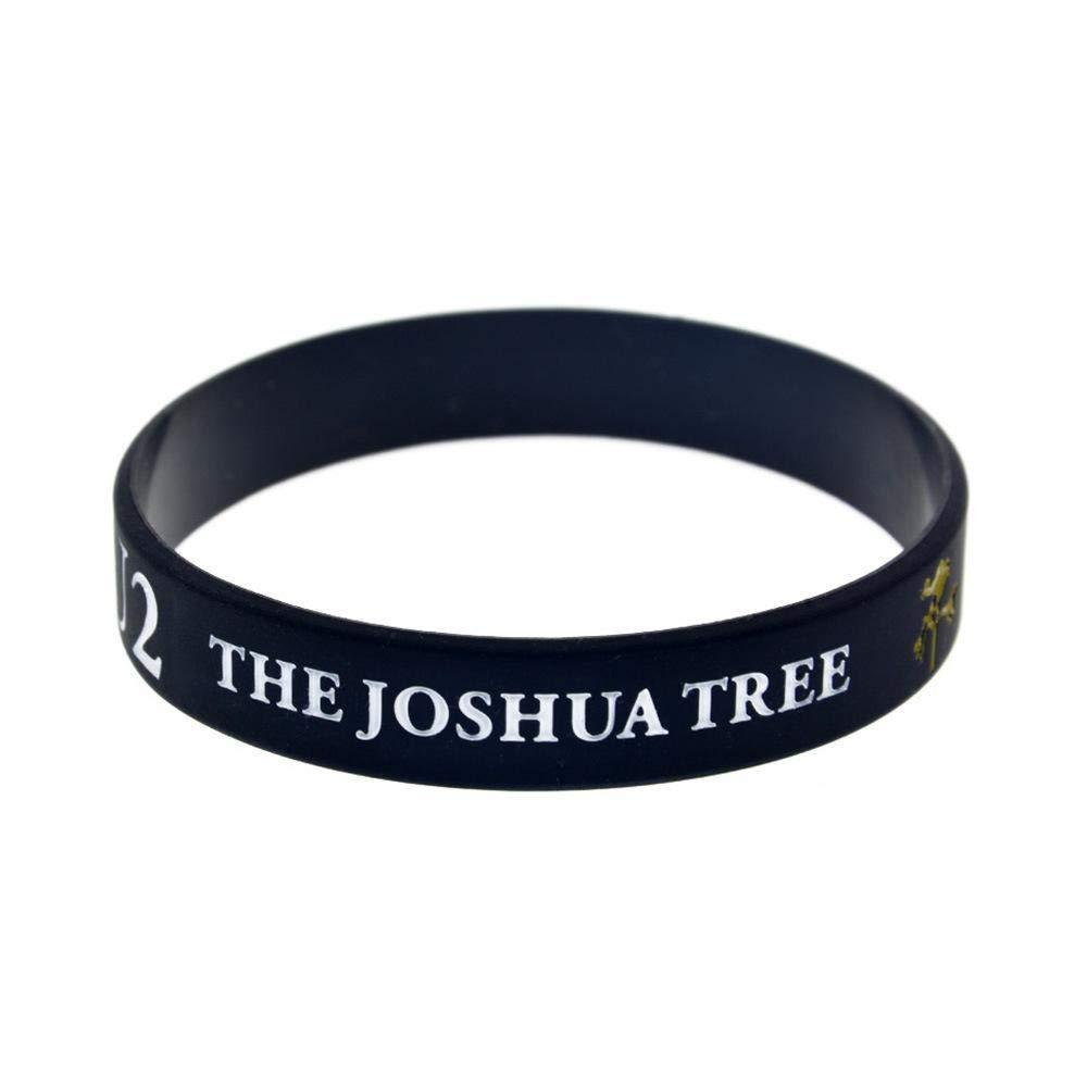 Luziang Bracciali in Silicone con Braccialetti di Gomma di detti U2 Joshua Tree per Adulti e Bambini incoraggiamento Set di Pezzi