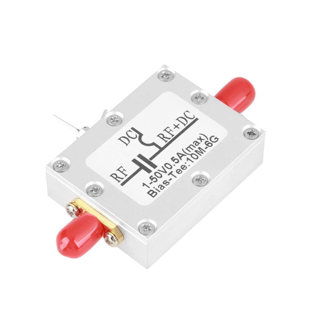 10MHz-6GHz Bias Tee Broadband Radio Frequency Microwave Coaxial Bias Low Noise Amplifier Module. Garsent