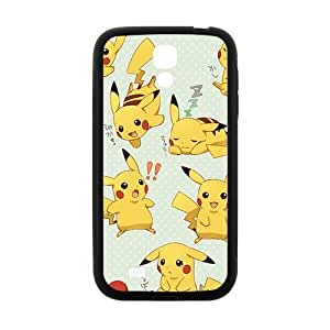 Cool painting Anime cartoon Pokemon Pikachu Cell Phone Case for Samsung Galaxy S4