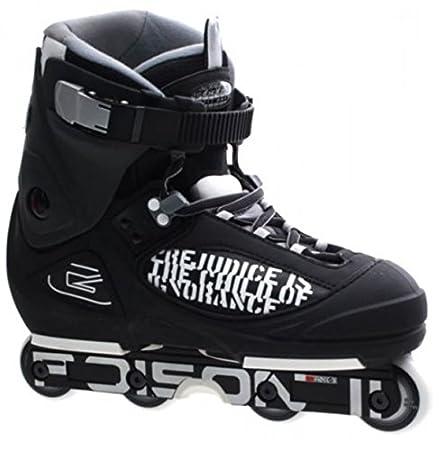 California Pro Poison II aggressive Inline skate, unisex, Poison II, Black, Taglia 46 Ventronic Import Co 5060581670097