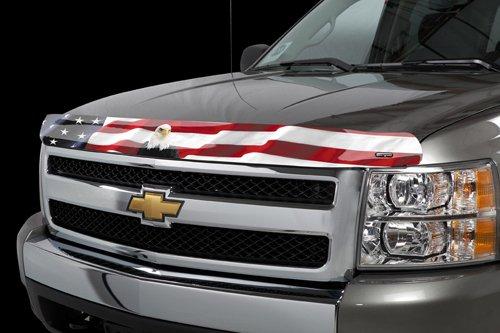 Stampede 3012-30 Vigilante Premium Hood Protector with American (Flag Hood Guard)