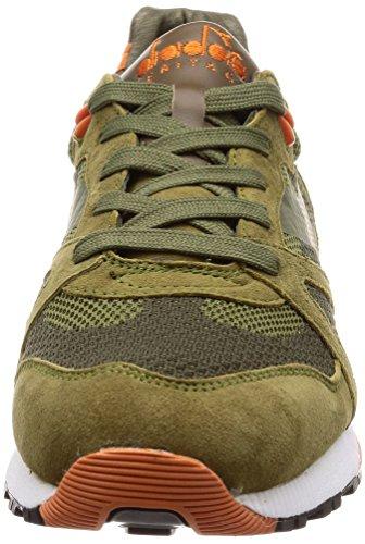 Diadora 172543 Baskets Homme Vert 42½