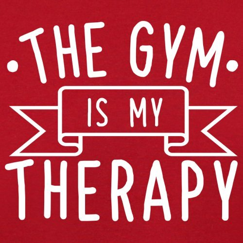 Therapy Flight Bag Gym Is Black Red Retro Gym Is My My Ow0qW0HxX