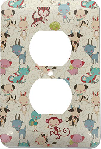 - Chinese Zodiac Electric Outlet Plate (Personalized)