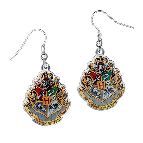 HARRY POTTER Official Licensed Jewelry Earrings (Hogwarts Crest) from HARRY POTTER