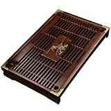 Solid Wood Tea Tray Tea Set Chinese Kung Fu Tea Set-#04