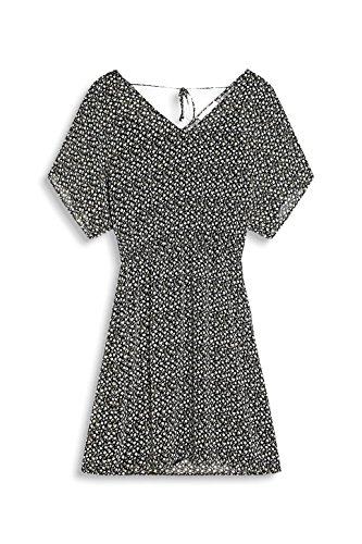 Damen ESPRIT Kleid Black 001 Mehrfarbig fOpqOwd