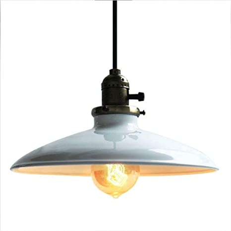 Modern techo Industrial - Lámpara de techo color blanco ...